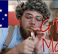 Arend Richard AUSTRALIAN SMOKES AMERICAN WEED (Bimbi)