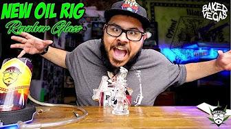 Baked In Vegas REVOLVER GLASS DOUBLE UPTAKE KLIEN RECYCLER!!!