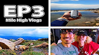 CannaViceTV Mile High Vlogs: Ep 3. Getting high 14,200ft above sea level, met Dabbing Granny, pax era and more