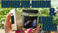 EXOTIKZ PRE-RELEASE CANNABIS & LINX GAIA GOLD! | Great Convection Vape | TheDabSpot