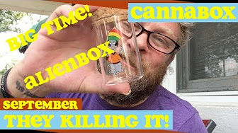 ALERT: @Cannabox Is Killing It Right Now!! Or, September 2017 #Cannabox Unboxing @dsativa99