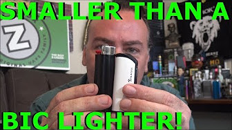 The Tiny Sparrow VV Mod by Tesla! | Smaller than a Bic Lighter! | IndoorSmokers
