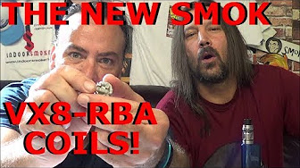 The New Smok V8 X-Baby RBA Coils!   & 50% off Spicy Vapes!   IndoorSmokers