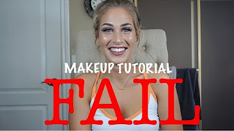 Joya G MY FIRST MAKEUP TUTORIAL: FAIL!!!!