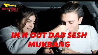 IN N OUT SMOKE SESH + CHILL MUKBANG ?!? | NamelessStoners