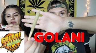 SMOKING A GOLANI PRE-ROLL FOR THE FIRST TIME | NamelessStoners