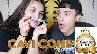OUR FIRST CAVI CONE SMOKE SESH !! | NamelessStoners