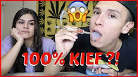 SMOKING A 100% KIEF RAW HEMP CONE !!! | NamelessStoners