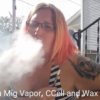 Nessies Kitchen Medicating at a Baby Shower w/@CCell, @MigVapor & @WaxLiquidizer