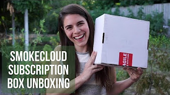 Positive Smash 420 SmokeCloud Subscription Box Unboxing