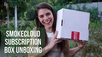 Positive Smash 420 SmokeCloud Subscription Box Unboxing