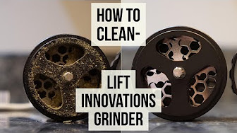 Positive Smash 420 How to Clean-Lift Innovations Grinder