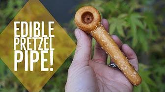Positive Smash 420 Edible Pretzel Pipe!