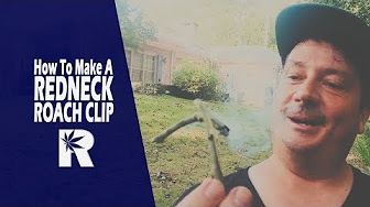 RuffHouse Studios How To Make A Redneck Roach Clip: Cannabasics #75