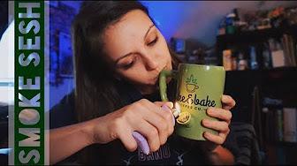 SilencedHippie Wake and Bake // Coffee Mug Pipe!!