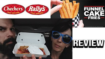 Whitfield Food Reviews Checkers / Rally's Fully Loaded Funnel Cake Fries Food Review