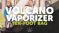 Volcano Vaporizer Ten-Foot Bag // 420 Science Club