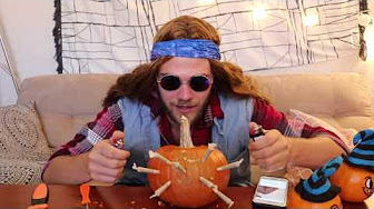 Arend Richard's Tommy Chong & the 8 Joint Pumpkin    Halloween Special