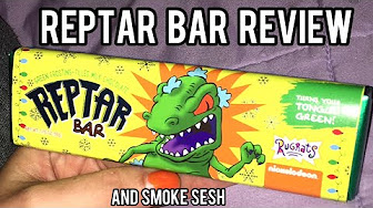 CosmicCloudz420 Reptar Bar Review And Quick Bong Rip