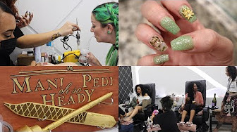 Marijuana Manicure Party in Los Angeles | CoralReefer | REAL WEED MANICURE