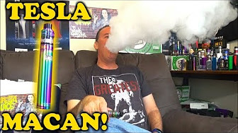 Tesla Macan 90w Vape Pen! | & Rasta Vapes! | IndoorSmokers