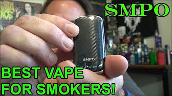 SMPO: Best Vape for Smokers! | & For Keistering! | IndoorSmokers