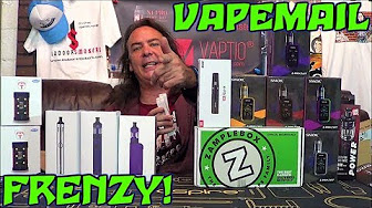 VAPEMAIL FRENZY! | Smok G-Priv 2, Sigelei MT 220w, & K-Pin Mini! | IndoorSmokers
