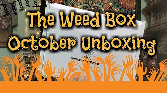MaryLovesGlass The Weed Box Unboxing October