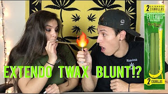 FIRST TIME ROLLING & SMOKING A TWAX EXTENDO BLUNT !!! | NamelessStoners