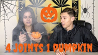 SMOKING 4 JOINTS IN 1 PUMPKIN !! **HAPPY HALLOWEED** | NamelessStoners