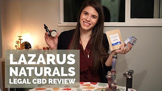 Positive Smash 420 Lazarus Naturals LEGAL CBD Review + A GIVEAWAY