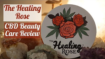 Positive Smash 420 Healing Rose LEGAL CBD Beauty Care