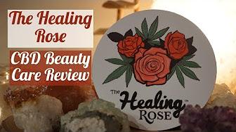Positive Smash 420 Healing Rose LEGAL CBD Beauty Care