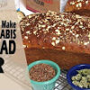 How To Make Honey Whole Weed Bread (Cannabis Infused Multi Grain Loaves) Cannabasics #78