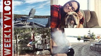 SilencedHippie Weekly Vlog // Camping, Autumn Nature & Relaxing!