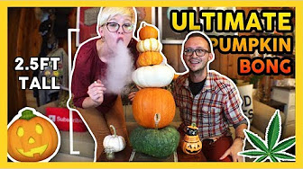 That High Couple ULTIMATE PUMPKIN BONG & Closed Live Giveaway