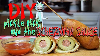 Pickle Rick & Schezwan Sauce Rick & Morty McDonald's DIY CopyCat Recipe
