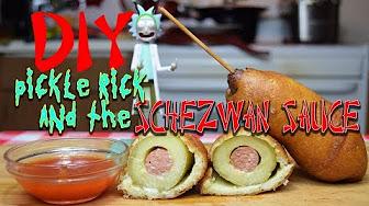 Pickle Rick & Schezwan Sauce Rick & Morty McDonald's DIY CopyCat Recipe