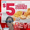 Wendy's New $5 Chicken Tender Combo w/ S'Awesome Sauce Review