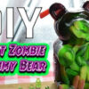 Whitfield Foods DIY Giant Zombie Sour Gummy Bear - Friday the 13th Recipe!