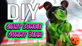 Whitfield Foods DIY Giant Zombie Sour Gummy Bear – Friday the 13th Recipe!