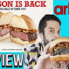 Whitfield Food Reviews Arby's New Venison Sandwich & Mystery Oreo's!