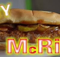 Whitfield Foods McDonald's DIY McRib & Sauce CopyCat Recipe