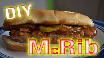 Whitfield Foods McDonald's DIY McRib & Sauce CopyCat Recipe