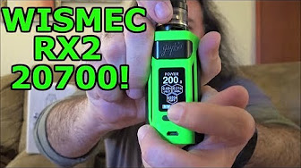 Wismec Reuleaux RX2 20700! | & Pixie Tarts From Milkman Ejuice! | IndoorSmokers