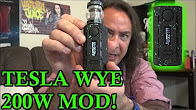 Tesla WYE 200w Mod! | Lightest Mod on the Market! | IndoorSmokers