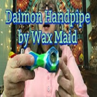 MaryLovesGlass Daimon Handpipe by WaxMaid Review