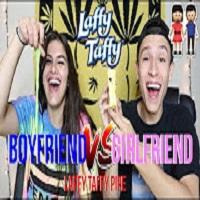 LAFFY TAFFY PIPE CHALLENGE !!! **BF vs GF** !!! | NamelessStoners