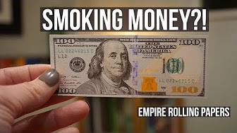 Positive Smash 420 Smoking Money!? Empire Rolling Papers + GIVEAWAY