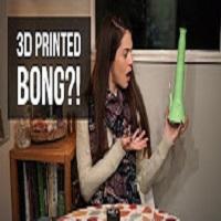 Positive Smash 420 3D PRINTED BONG?!
